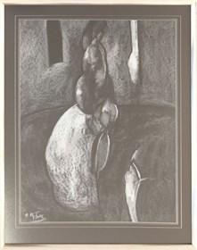 Obraz do salonu artysty Ryszard Miłek pod tytułem Bez tytułu I