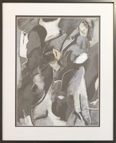 Obraz do salonu artysty Ryszard Miłek pod tytułem Bez tytułu II