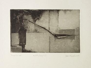 Grafika do salonu artysty Joanna Klepadło pod tytułem Through the wall