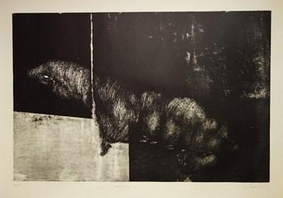 Grafika do salonu artysty Joanna Klepadło pod tytułem Adrenalina