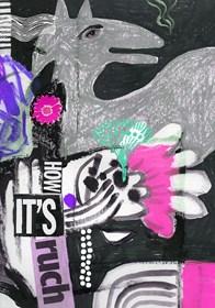 Grafika do salonu artysty Ewa Beniak-Haremska pod tytułem Ruch