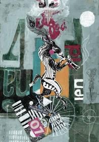 Grafika do salonu artysty Ewa Beniak-Haremska pod tytułem Don's Elegy