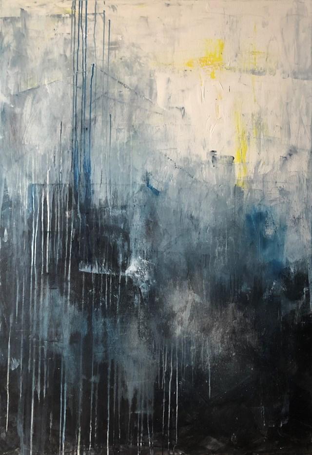 Obraz do salonu artysty Joanna Wietrzycka pod tytułem Walk in the rain