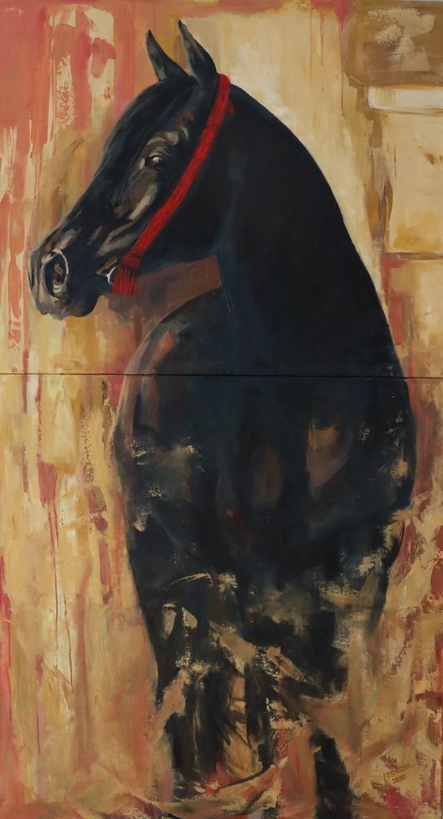 Obraz do salonu artysty Katarzyna Doroba pod tytułem CZĘŚĆ I/II