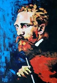 Obraz do salonu artysty Katarzyna Doroba pod tytułem VAN GOGH
