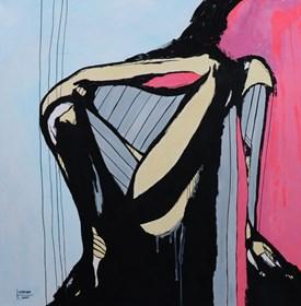 Obraz do salonu artysty Katarzyna Doroba pod tytułem BEZ TYTUŁU