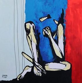 Obraz do salonu artysty Katarzyna Doroba pod tytułem II