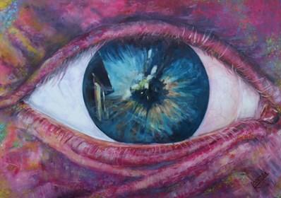 Obraz do salonu artysty Katarzyna Doroba pod tytułem USTRONIE