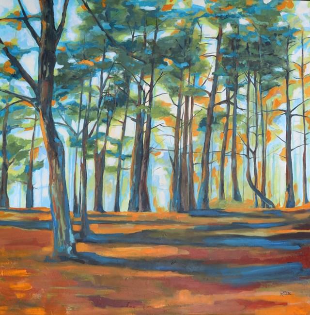 Obraz do salonu artysty Katarzyna Doroba pod tytułem JUSTYNKA
