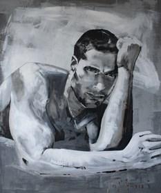 Obraz do salonu artysty Natasza Mirak pod tytułem Sabra
