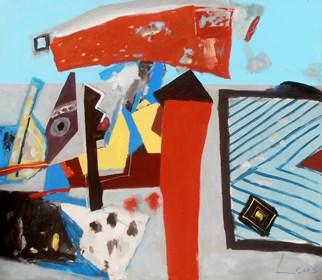 Obraz do salonu artysty Zbigniew Leuszniewicz pod tytułem 6