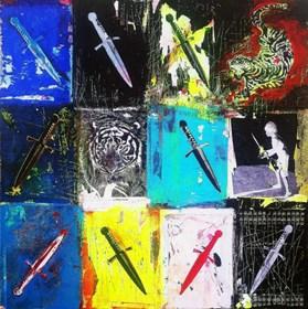Obraz do salonu artysty Monika Solorz pod tytułem SZACHY