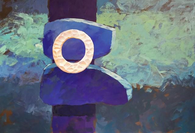 Obraz do salonu artysty Katarzyna Wołodkiewicz pod tytułem Amulet - To co stabilne