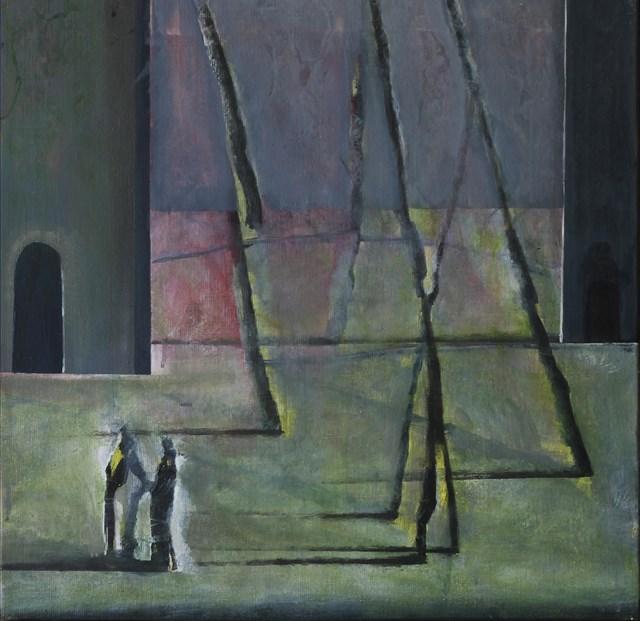 Obraz do salonu artysty Łukasz Gil pod tytułem Rozmowa