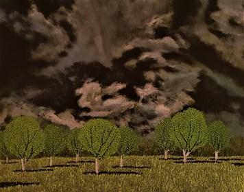 Obraz do salonu artysty Jacek Malinowski pod tytułem Prima della tempesta