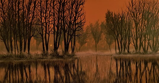 Obraz do salonu artysty Jacek Malinowski pod tytułem All'alba
