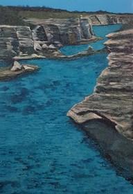 Obraz do salonu artysty Jacek Malinowski pod tytułem Paesaggio mariono