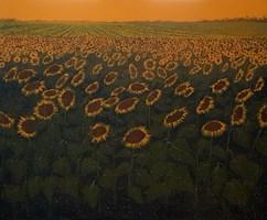 Obraz do salonu artysty Jacek Malinowski pod tytułem Girasoli toscani