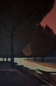 Obraz do salonu artysty Jacek Malinowski pod tytułem O świcie