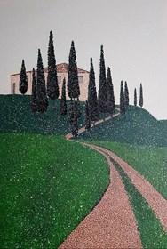 Obraz do salonu artysty Jacek Malinowski pod tytułem Paesaggio Toscano