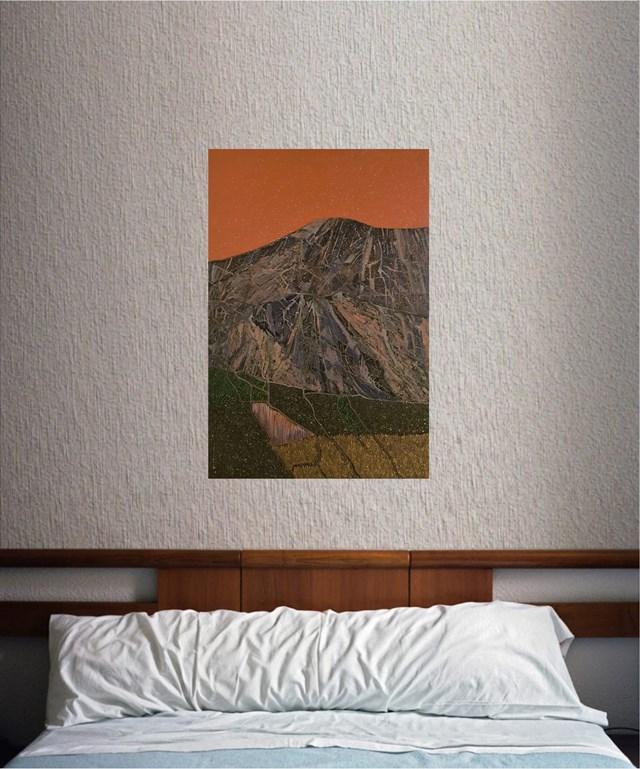 Montagna Rosa - wizualizacja pracy autora Jacek Malinowski