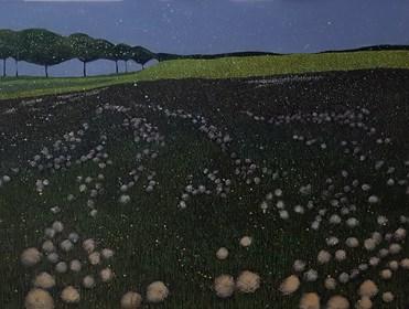 Obraz do salonu artysty Jacek Malinowski pod tytułem Droga do Rzucewa
