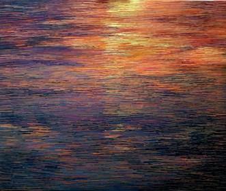 Obraz do salonu artysty Jacek Malinowski pod tytułem Il tramonte