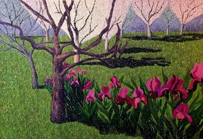 Obraz do salonu artysty Jacek Malinowski pod tytułem Maggio