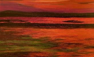 Obraz do salonu artysty Jacek Malinowski pod tytułem Il tramonto