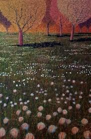 Obraz do salonu artysty Jacek Malinowski pod tytułem Il tramonto / ultimo giorno di maggio