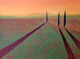 Obraz do salonu artysty Jacek Malinowski pod tytułem Val d'Orcia