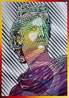 Obraz do salonu artysty Michał Mąka pod tytułem Apollo