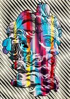 Obraz do salonu artysty Michał Mąka pod tytułem Neptune