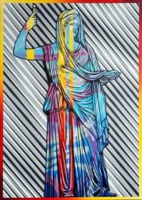 Obraz do salonu artysty Michał Mąka pod tytułem Hera I