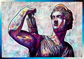 Obraz do salonu artysty Michał Mąka pod tytułem Artemis II