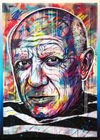 Obraz do salonu artysty Michał Mąka pod tytułem Pablo Picasso