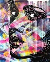 Obraz do salonu artysty Michał Mąka pod tytułem Look around