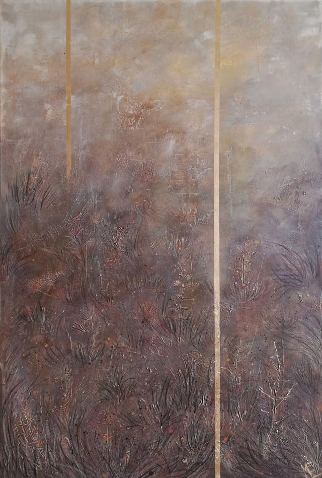 Obraz do salonu artysty EWA MRÓZ pod tytułem INSIDE