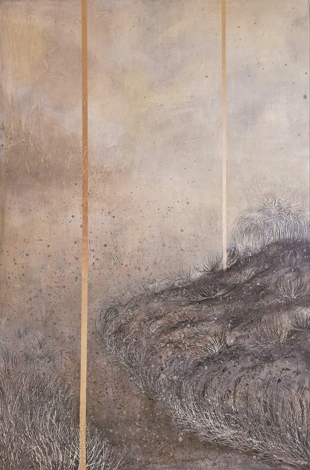 Obraz do salonu artysty EWA MRÓZ pod tytułem CROOKED ROAD
