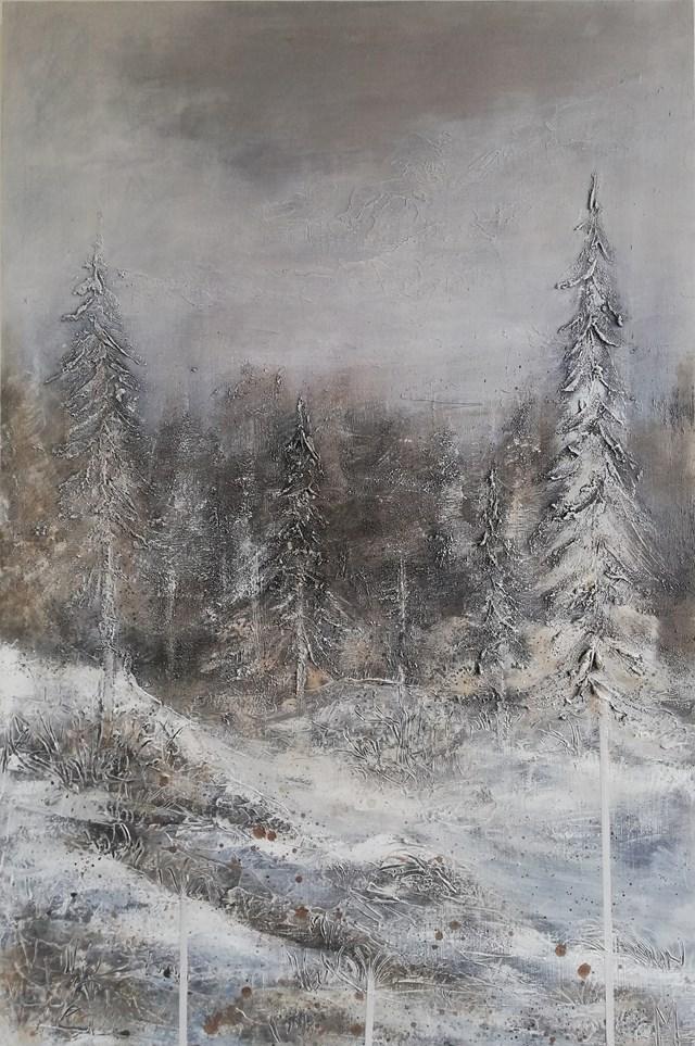 Obraz do salonu artysty EWA MRÓZ pod tytułem SURROUNDED