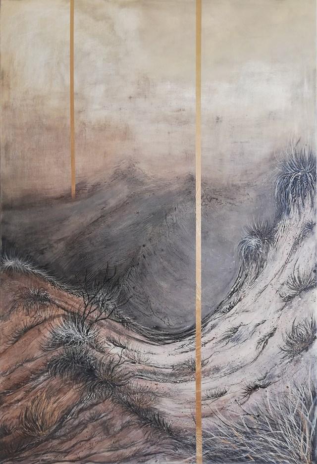 Obraz do salonu artysty EWA MRÓZ pod tytułem IN FRONT OF