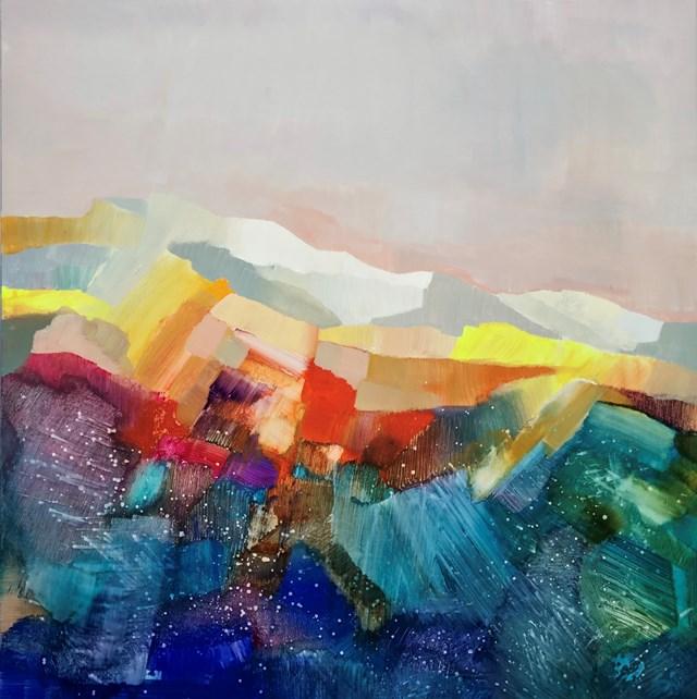 Obraz do salonu artysty Alicia Zimnickas pod tytułem Distant Horizons