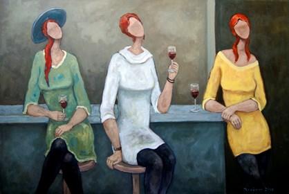 Obraz do salonu artysty Henryk Trojan pod tytułem Las mujeres libres