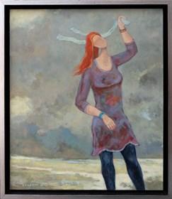 Obraz do salonu artysty Henryk Trojan pod tytułem WIATR Z PÓŁNOCY