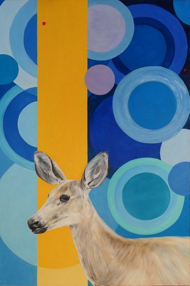 Obraz do salonu artysty Dariusz Głowacki pod tytułem Polowanie