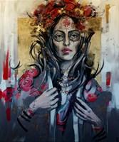 Obraz do salonu artysty Kamila Jarecka pod tytułem Bogini