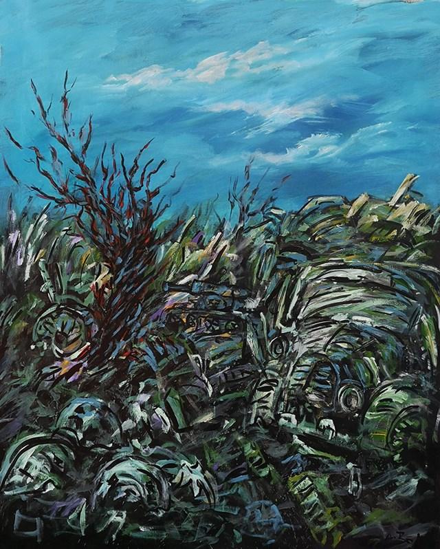 Obraz do salonu artysty Adam Bojara pod tytułem P13 OBRAZ