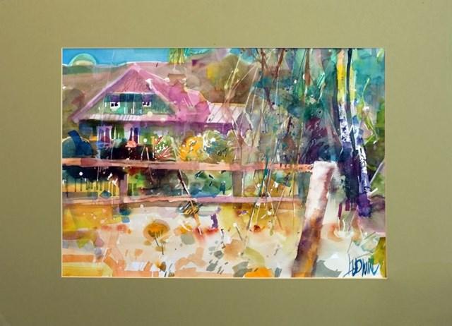 Obraz do salonu artysty Krzysztof Ludwin pod tytułem Zaborek, Motyw8