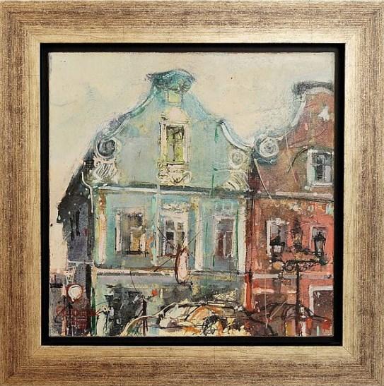 Obraz do salonu artysty Krzysztof Ludwin pod tytułem Głogówek 1