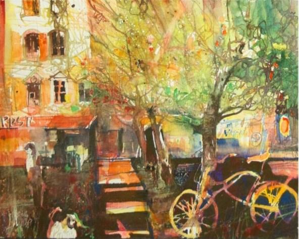 Obraz do salonu artysty Krzysztof Ludwin pod tytułem Kraków 2013